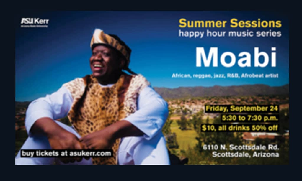 Moabi – Summer Sessions happy hour