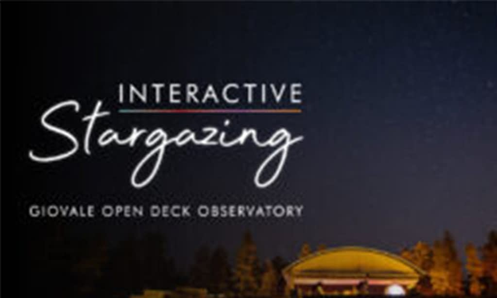 Interactive Stargazing   August 3, 2021
