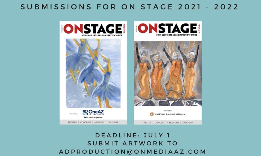 ON Media Seeks Cover Art for 2021-2022 Edition of ON Stage AZ