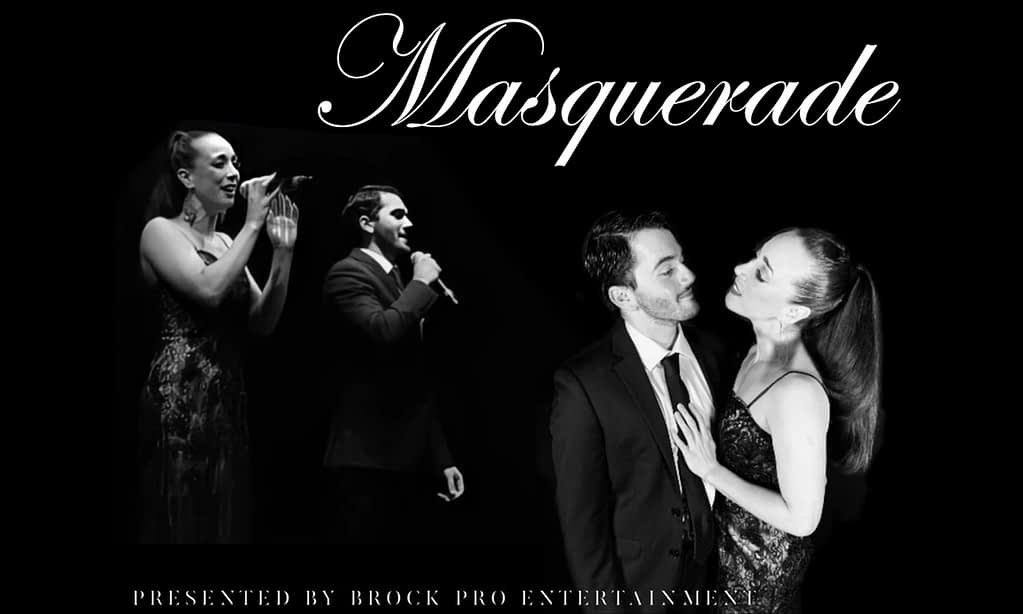 """Just Announced: """"Masquerade"""" the Second Night of """"A Series of One-Night Stands"""""""