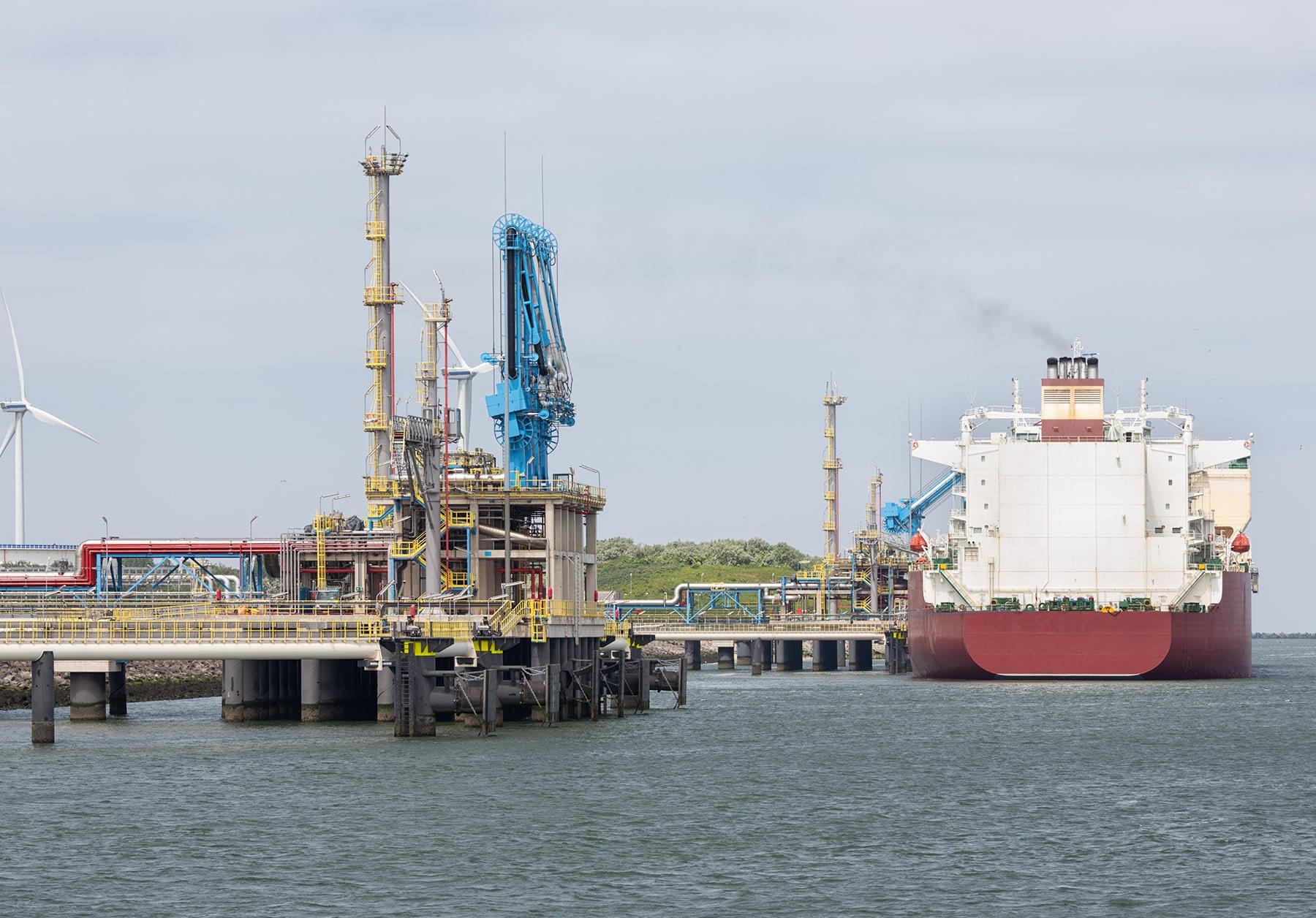 Private Oil Transshipment Terminal in Brazil